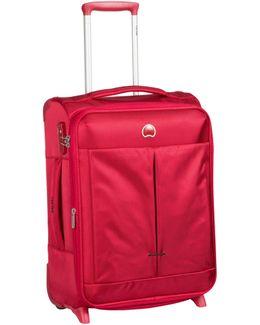 Air Adventure 55cm 4 Wheel Cabin Red Suitcase