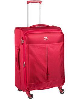 Air Adventure 67cm 4 Wheel Medium Red Suitcase