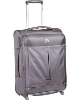 Air Adventure 55cm Cabin Silver Grey Suitcase