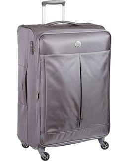 Air Adventure 78cm Large Silver-grey Suitcase