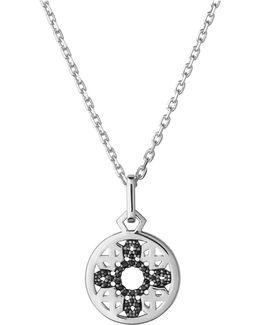 Timeless Sterling Silver & Black Sapphire Pendant