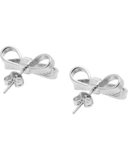 Mini Bow Stud Earrings