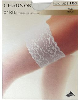 Bridal Lace Top Hold Up