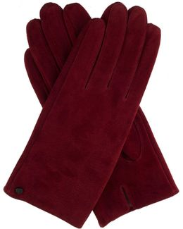 Womens Suede Gloves