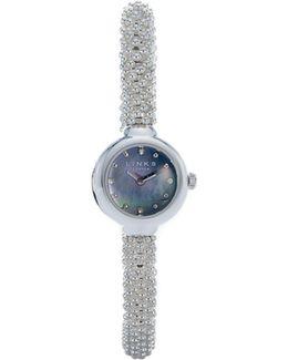 Effervescence Star Sapphire Watch In Black