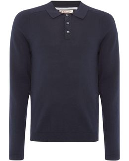 Long Sleeve Sweater Polo