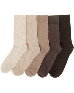 5 Pack Marl Sock