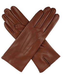 Ladies Silk Lined Leather Glove