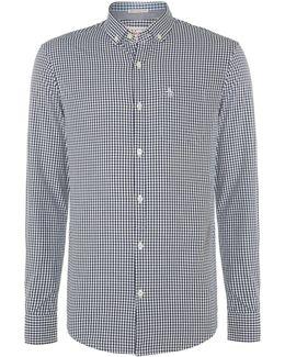 Long Sleeve Belan Gingham Shirt