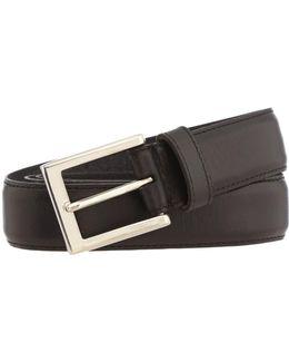 Leather Stitched Belt