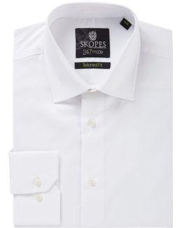 Plain Tailored Fit Formal Shirt