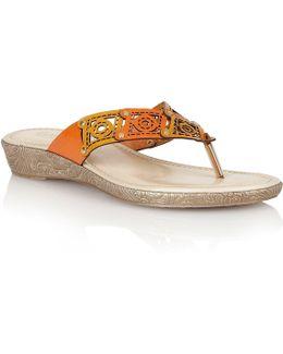 Scorch Toe Post Sandals