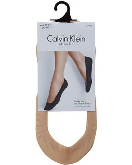 Laser Cut 2 Pair Pack Ballet Liners