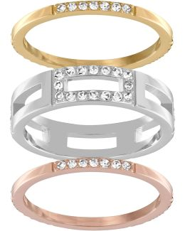 Cubist Ring Set