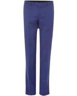 Men's Julian Slim Fit Pindot Suit Trouser