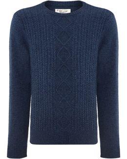 Dour Aran Cable Sweater