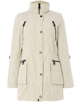 Veronica Parka Coat With Hood