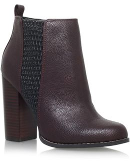 Scorpio High Heel Ankle Boots