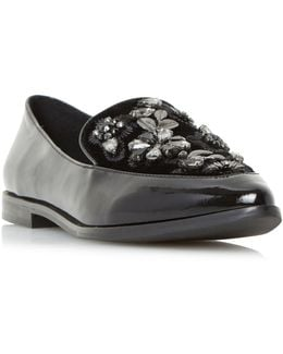 Gift Pointed Toe Beaded Loafers
