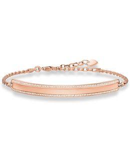 Love Bridge Rose Gold Plated Bracelet