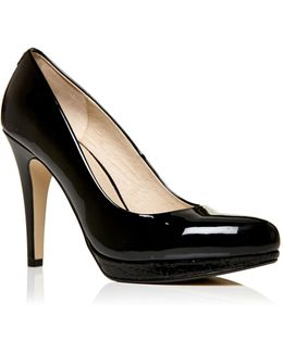 Civello High Heel Platform Court Shoes