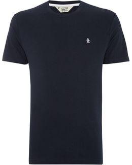 Pin Point Crew-neck T-shirt