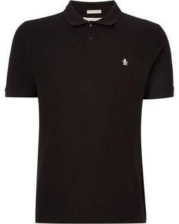 Cotton Raised-rib Short Sleeve Polo