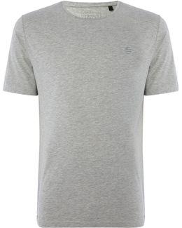 Wide Logo Short Sleeve T-shirt