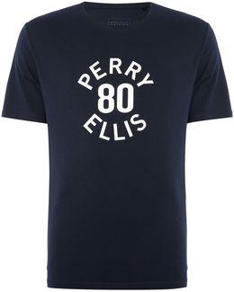 80`s Logo Signature Fit Crew Neck T-shirt