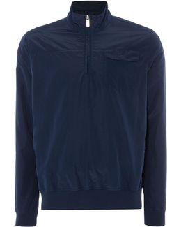 Zip Through Neck Light Weight Jacket