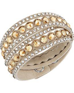Crystal Double Wrap Bracelet