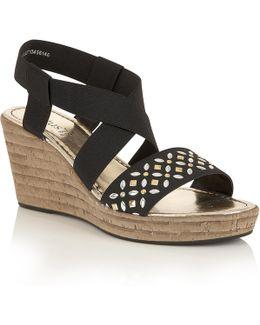 Chiara Wedge Sandals