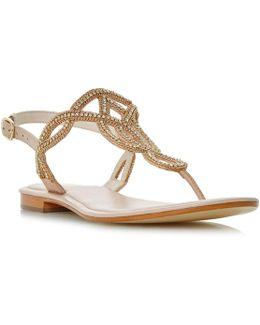 Nea Jewelled Sandals