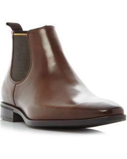 Maritime Colour Chisel Toe Chelsea Boots