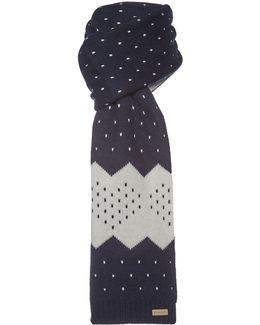 Holiday Knitted Scarf