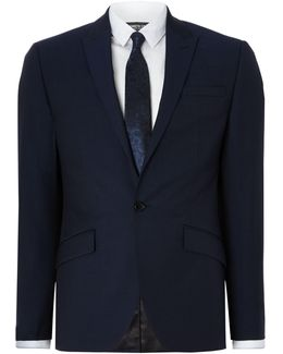Men's Morgan Sb1 Slim Fit Peak Lapel Suit Jacket