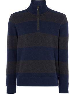 Barstripe Sacker Rib Sweatshirt