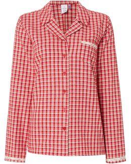 Transformation Check Pyjama Top