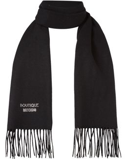 Diamante Logo Scarf