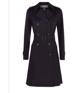 Lana Double Breasted Raincoat