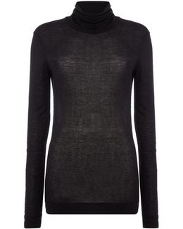 T-selox Knitted Long Sleeved Top