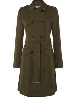 Woven Trenchcoat
