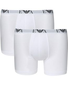 2 Pack Of Large Logo Boxer