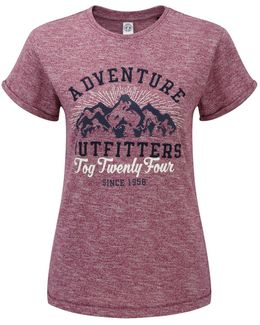 Brett Womens T-shirt Outfit Print