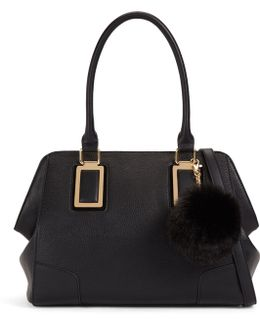 Lauzzana Tote Bag With Pom Pom