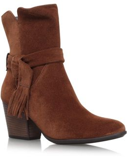 Lindsay High Heel Ankle Boots
