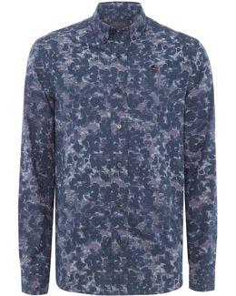 Bold Printed Long-sleeve Shirt