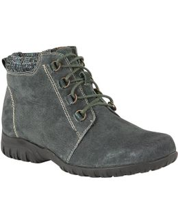 Santana Suede Lace Up Ankle Boots