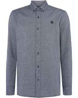 Cotton Oxford Long-sleeve Shirt