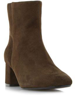 Packham Low Block Ankle Boots